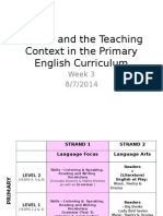 Stories and the Teaching Context in the Primary