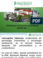 Diapositiva Modelo Humanista - Unidad No. 1