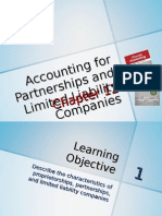 Chapter 12 - Accounting for Partnerships and Limited Liability Companies