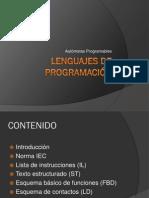 Lenguajes de Programación PLC (1)