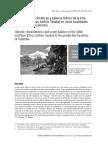 Características climáticas y balance hídrico de la lima ácida Tahití (Citrus latifolia Tanaka) en cinco localidades productoras de Colombia