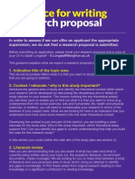 Research Proposal u6410