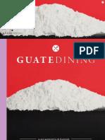 Colaboración en la revista Guatedining - Edición 27 - Octubre 2015