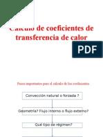 Correlaciones Para Transferencia de Calor Convectivo