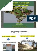 Application of Ecological Models in Entomology - Godoy