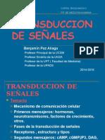 TRANSDUCCIÓN DE SEÑALES-ULTIMA 2015 MEDICINA UCSM.ppt