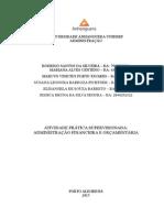 ATPS Financeira e Orçamentária FINAL