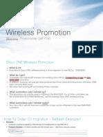 Cisco One Wireless Promo - Flavien[1]