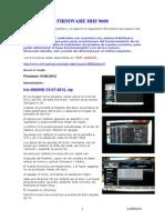 Firmwares Iris 9600 - Proceso Listas Canales