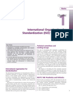International Organization for Standardization (ISO) Terminology