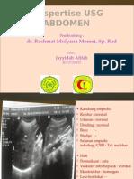 Ekspertise Usg Abdomen Appendicitis