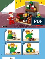 Lego Santas Visit