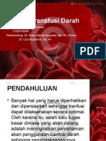 Referat Transfusi Darah