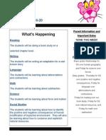 newsletter nov  16-20