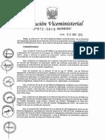 RVM N° 072-2015-MINEDU concurso ugels y drep
