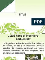 Diapositivas Ambiental