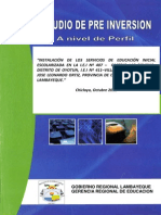 Estudio de Pre Inversion Las Delicias