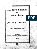 Modern Science and Anarchism - Kropotkin