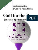 sponsorship bear necessities