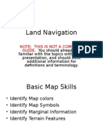 Land Navigation Powerpoint