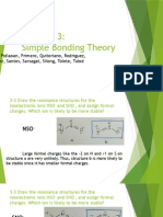 Chapter 3- Simple Bonding Theory