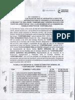 Acta de Entrega Hojas de Vida Del Director a La Comision