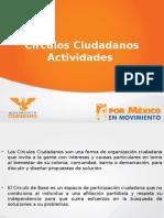Actividades Círculos Ciudadanos
