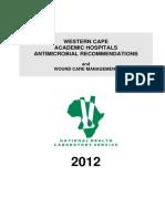 Antibiotic Recommendations Wc 2012