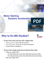 Motor Acceleration