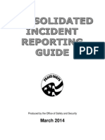 Peace Corps CIRS Consolidated Incident Reporting Guide 2014