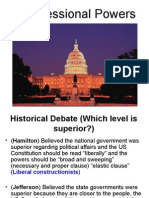 powers of congress ppt