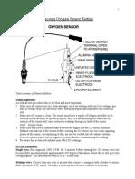 Zirconia Oxygen Sensor Testing