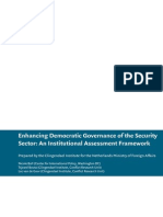 Enhancing Democratic Governance of the Security