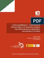 Gobernabilida y Convivensi Dimensiones Regionales Nacionales y Locales