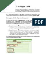 El Debugger ABAP