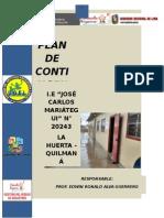 Plan de Contigencia Del Fenomeno Del Niño 2015