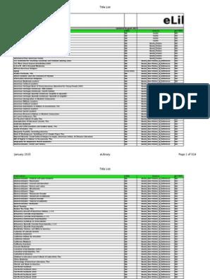 Daftar Jurnal Perpustakaan Elektronik Internasioanl