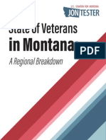Tester's State of Veterans in Montana Report