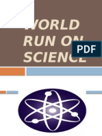 World Run on Science.ppt