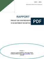 Rapport COB BA