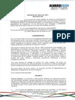 Decreto No 100-D-121 2013 Diciembre 06