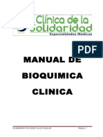 Manual  de Bioquimica Clinica
