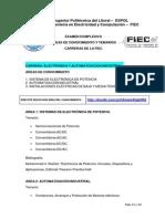 Temario FIEC Examen Complexivo 2015