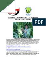 informe trabajo fundacion siwok feb 2014