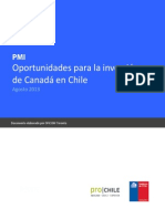 Prochile - Inversion Canada a 2013