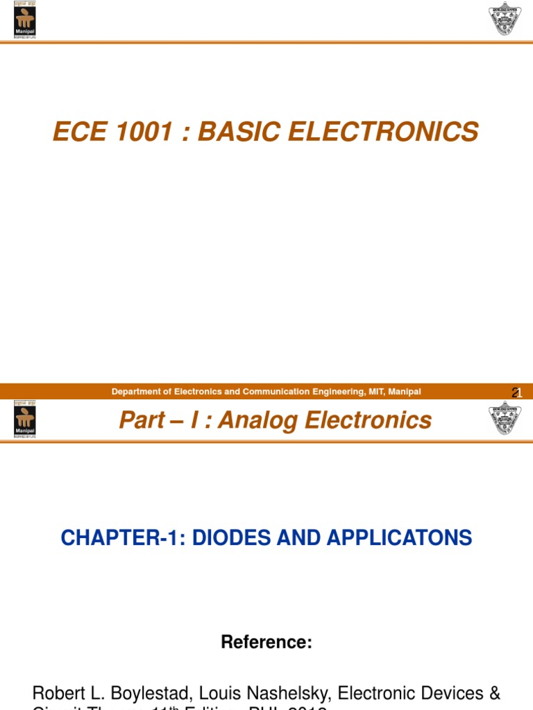 Diode Intro Pn Junction Zener Breakdown Phenomen In Semiconductor