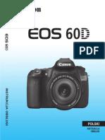 Instrukcja Canon EOS 60D Pl