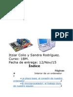 Itziar Colio y Sandra Rodríguez Trabajo de TIC