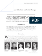 The Development of the Baby and Gestalt Therapy