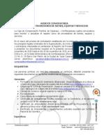 Requisitos y Formulario de Inscripcion Proveedores Comfacasanare